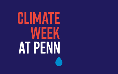 Climate Week at Penn Logo