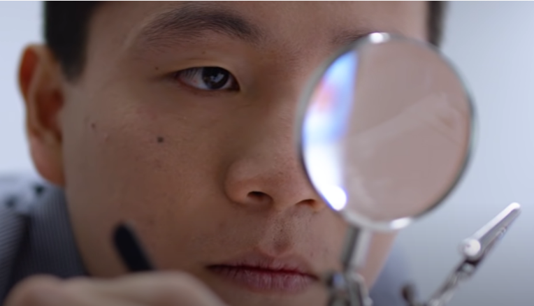 Avisi Technologies' Brandon Kao at work.