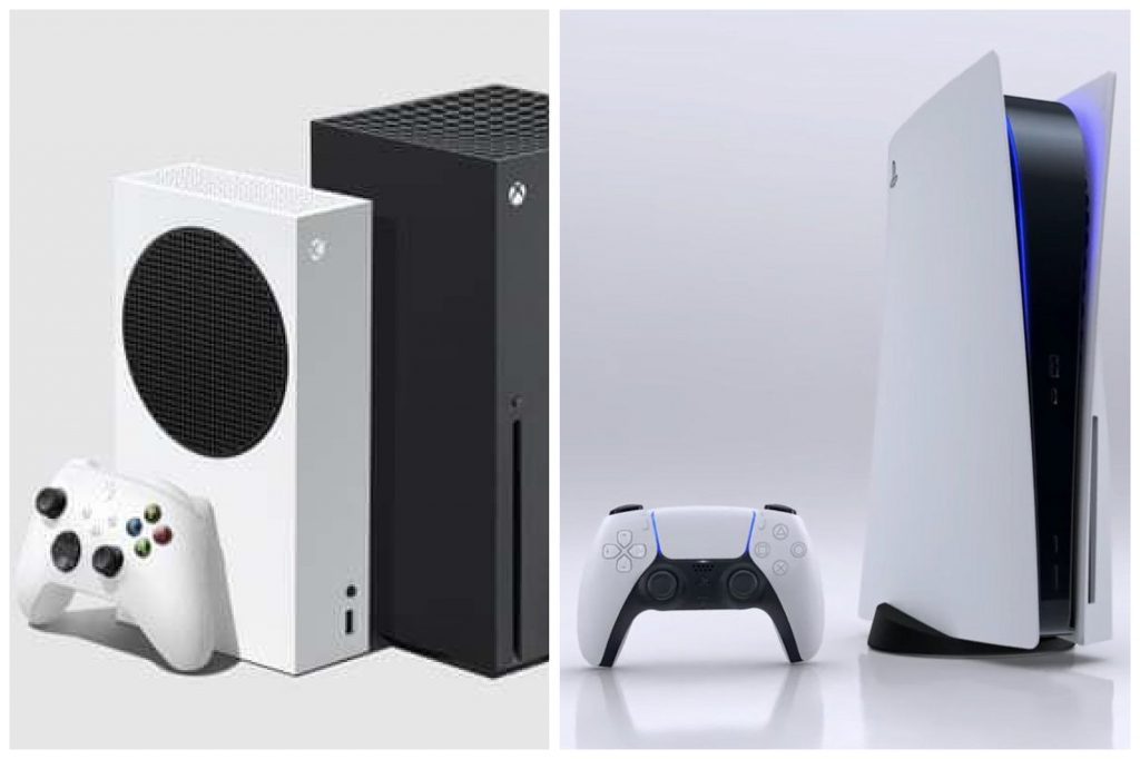 Xbox and Playstation Consoles
