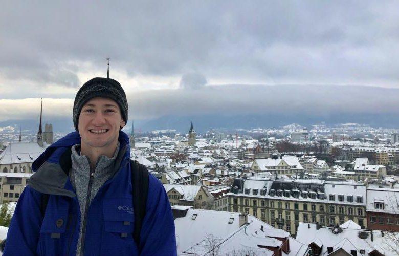 Gabriel DeSantis in Zurich