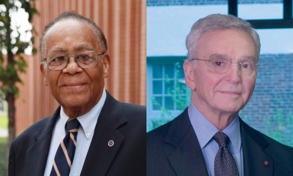 Dr. John Brooks Slaughter and Dr. Joseph Bordogna