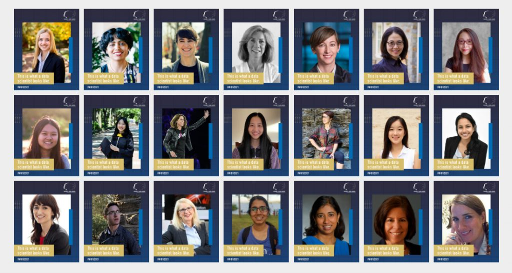 Speakers at the second annual Women in Data Science @ Penn Conference