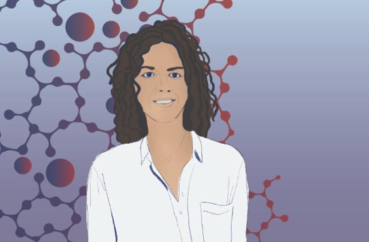 Celia Reina illustration by Melissa Pappas