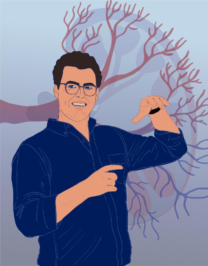 Alex Hughes (illustration by Melissa Pappas)