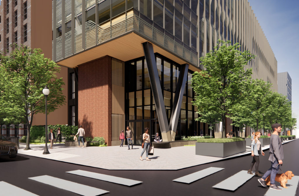 Rendering of Amy Gutmann Hall